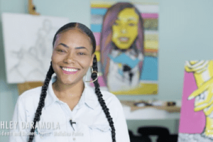 From Affordable Housing to Art Studio + Shop Owner